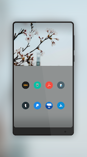 Pure - Icon Pack ( Flat Design ) Apps für Android screenshot