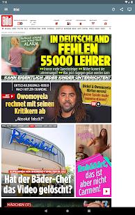 Deutsche Zeitungen Screenshot