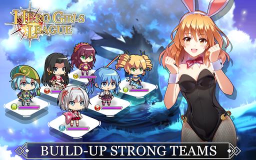 Hero Girls League - Fantasy RPG 1.0.2 Mod screenshots 2