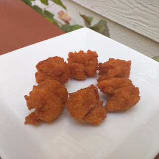 Sweet Potato Fritters.