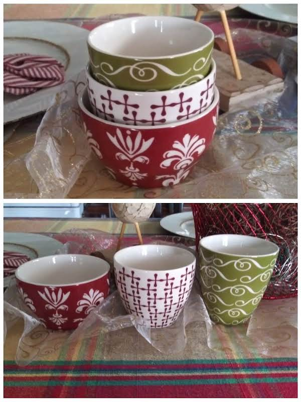 One Of My Goodwill Finds, A Set Of Starbucks Tea Mugs From 2010...great For Drinking My Hot Toddy!  =)