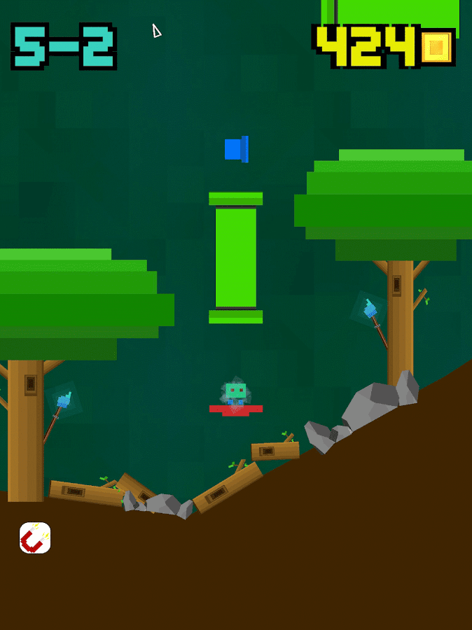 Blocky Blast- screenshot