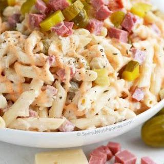 Reuben Pasta Salad.