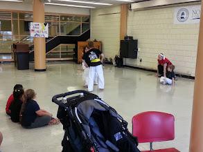 Photo: Fight scene. Photo by NSCC student Kym Malik