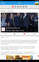 Screenshot of SincroGuía TV