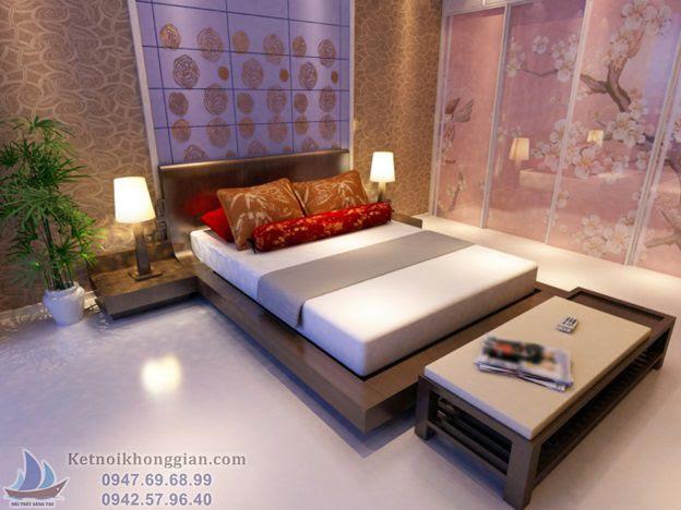thiết kế phòng ngủ chỉ nên đặt 1 giường