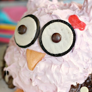 Owl Smash Cake (Updated)