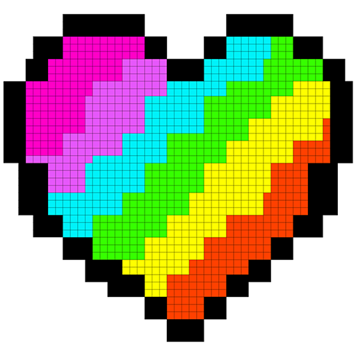 Pixel Art Coloring Book: Draw Sandbox Color Pages Icon