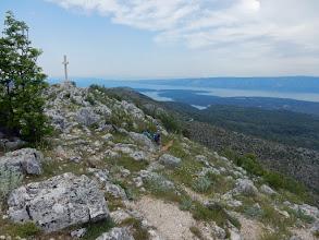 Photo: Op de top van Svete Nikola (628 m), het hoogste punt van Hvar