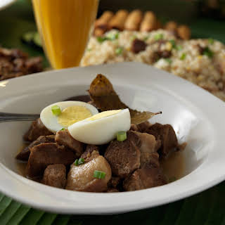 Filipino Pork Adobo.