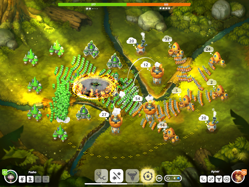Mushroom Wars 2 - Epic Tower Defense RTS apktram screenshots 10