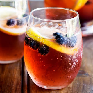 Lemon and Blueberry Punch.