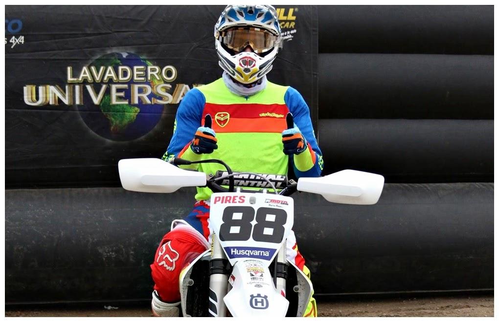 Alejo Pires cuenta su victoria en el MX Patagonia