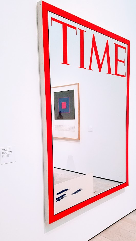 June 14, 2004 (Ronald Reason 1911-2004) by Mungo Thompson. Displayed at Broad Contemporary Art Museum at LACMA