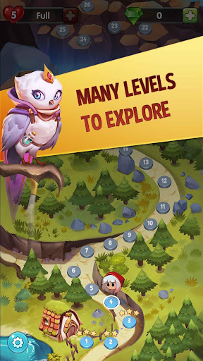 Bubble Shooter: Witch Story apkpoly screenshots 3