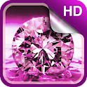 Shiny Diamonds Live Wallpaper icon