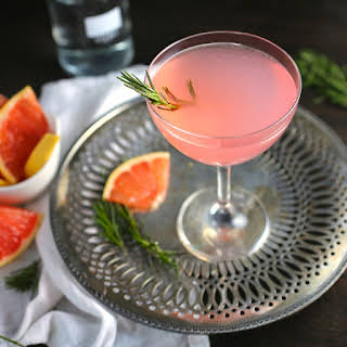 The French Tart (Grapefruit, Elderflower and Rosemary Cocktail).