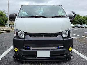 ハイエース TRH200V SUPER GL 2018年式のカスタム事例画像 keiji@黒バンパー愛好会さんの2020年06月30日18:21の投稿