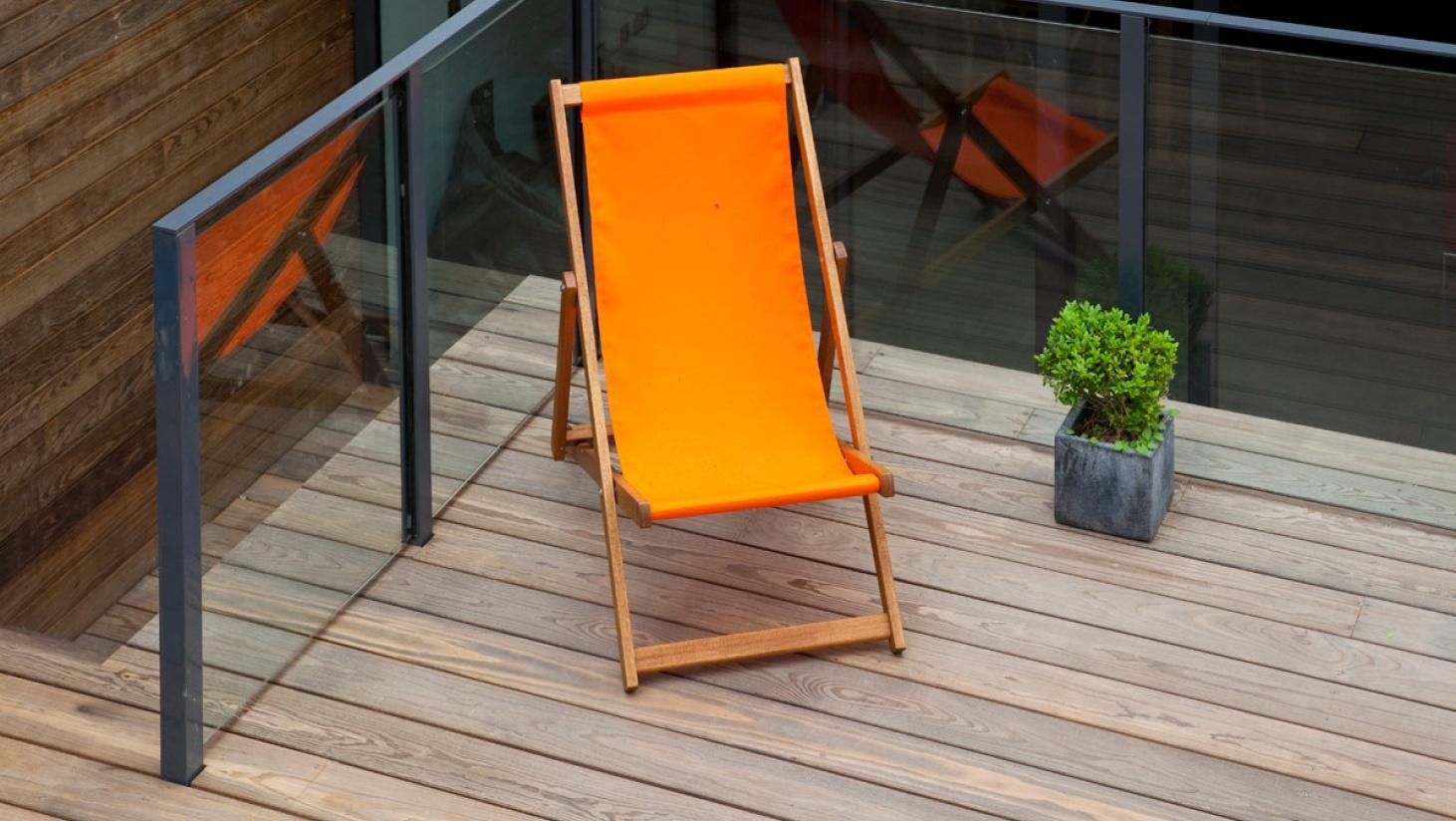 Orange er en varm farve, der giver op tagterrassen et løft