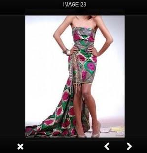 Trendy africké šaty - náhled