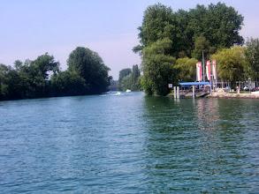 Photo: Einfahrt  in den Zihlkanal