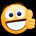 Thumbs Up Sticker Emoji Gif icon
