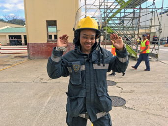 Durbanite Simangele Mbanjwa has hopes of being named the country's toughest woman firefighter at the national championships at the weekend.