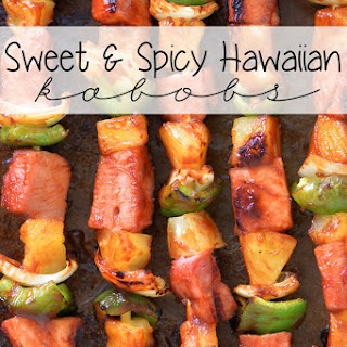 Sweet and Spicy Hawaiian Grilled Kabobs