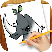 Learn to Draw Jungle Pets and Animal Jam