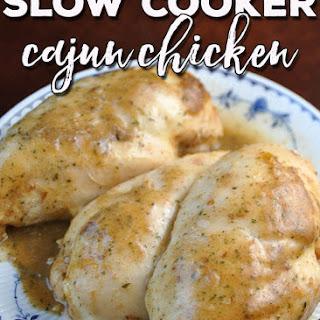 Slow Cooker Cajun Chicken Recipe