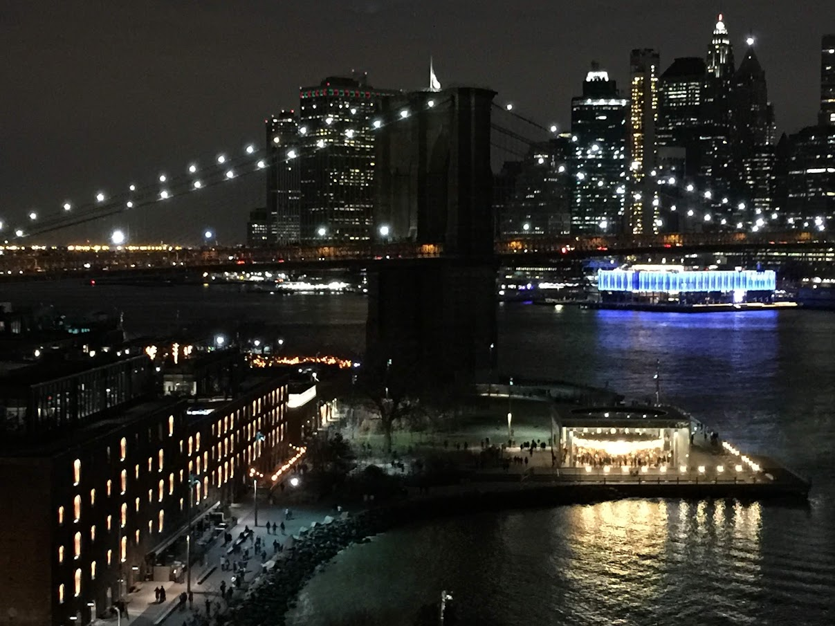 曼哈頓大橋俯瞰視角