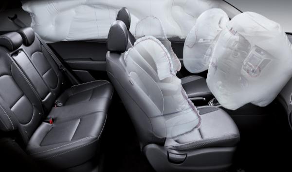 interior de la Hyundai Creta 2019