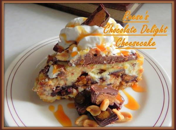 Reese's Chocolate Delight Cheesecake Recipe