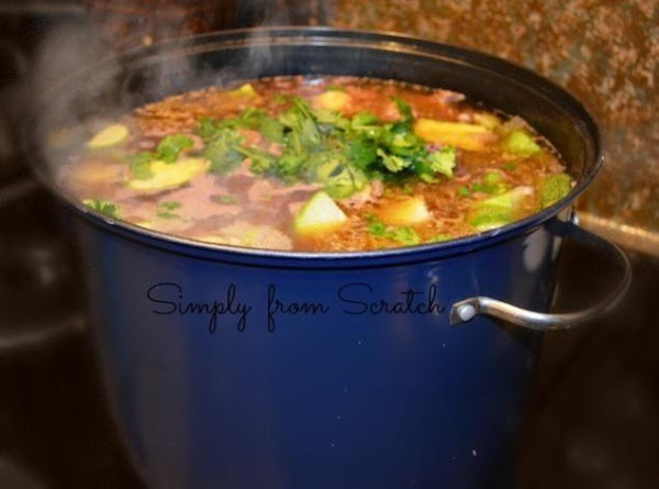 Caldo De Res (mexican Beef Soup) Recipe