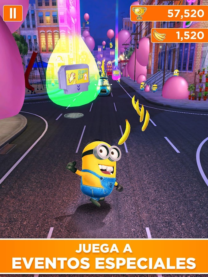 Minion Rush: Gru - Mi Villano Favorito: captura de pantalla