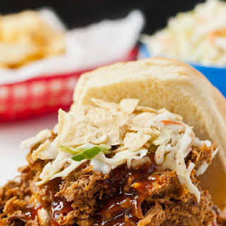 Slow Cooker Sweet and Spicy Pulled Pork.