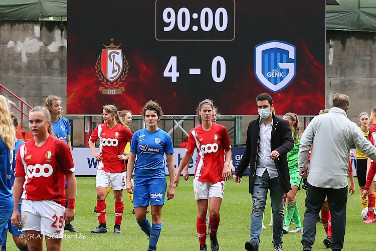 Standard wint ruim van Genk in Super League
