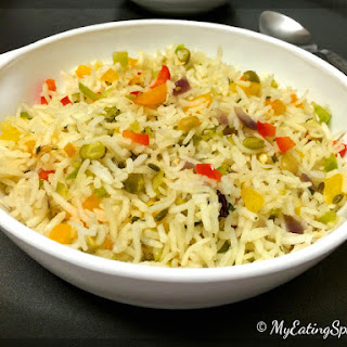 Garlic Capsicum Rice
