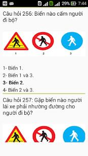 Ôn thi bằng lái ô tô hạng B1,B2,C,D,E,F. - náhled