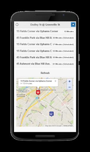 MBTA Bus Tracker  screenshots 4