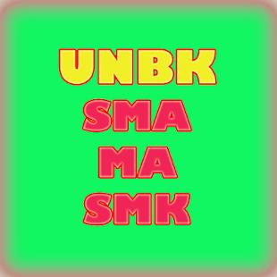 UNBK SMA, MA DAN SMK - náhled