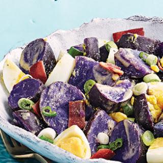 Purple Potato Egg Salad Recipe