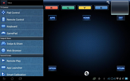 Panasonic TV Remote 2 screenshot 1