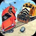 Train Vs Car Crash: Racing Games 2019 icon