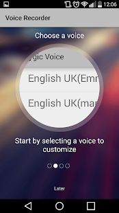 Voice Recorder by Sygic- screenshot thumbnail
