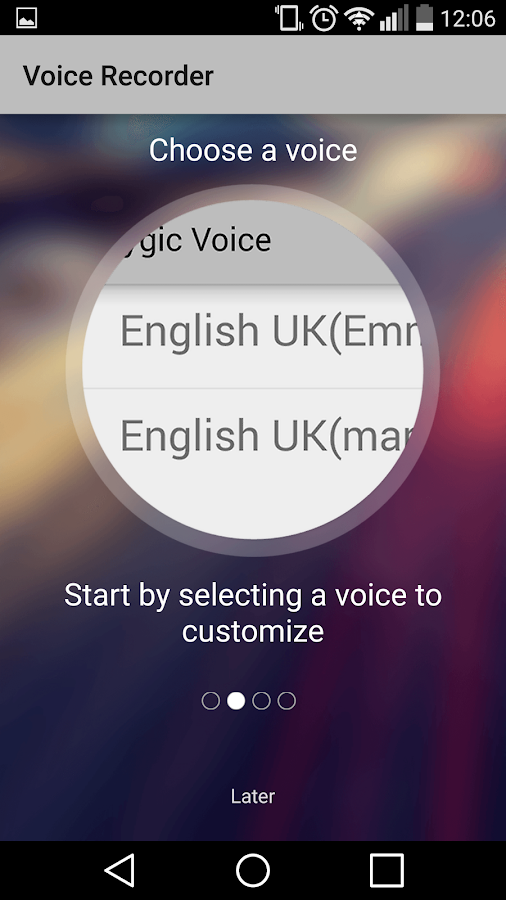 Voice Recorder by Sygic- screenshot