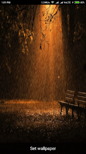 Raining Live Wallpaper - náhled