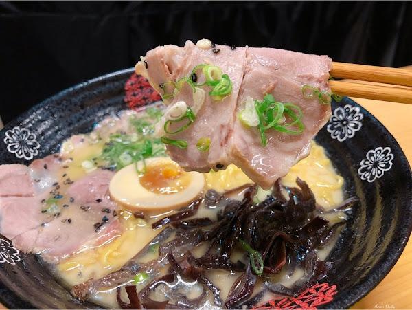 | 高雄美食 | 日式風味拉麵/紅茶只要$1必點/蓮池潭美食/希 ラーメン 拉麵