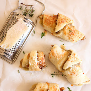 Meatball Stuffed Crescent Rolls