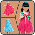 Baby Girl Suit Photo Editor icon